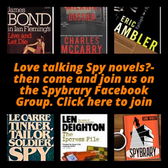 Spybrary Spy Podcast Discussion Group