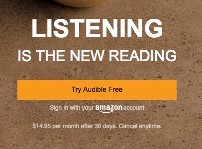 You can listen to August Thomas's Liar Candle on Audible.