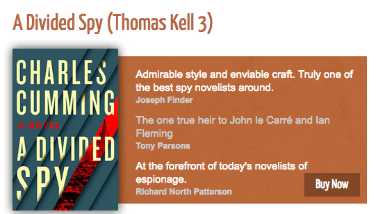 Charles Cumming - Author of Spy Thrillers