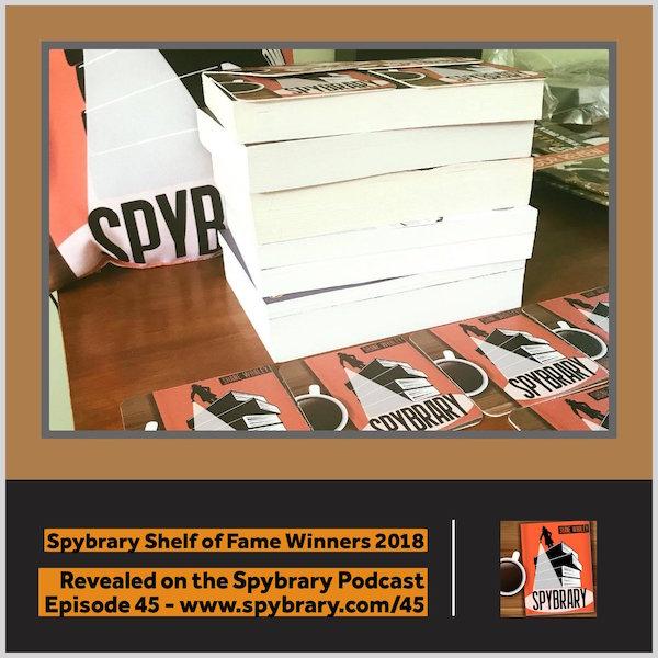 Spybrary Shelf of Fame Winners 2018