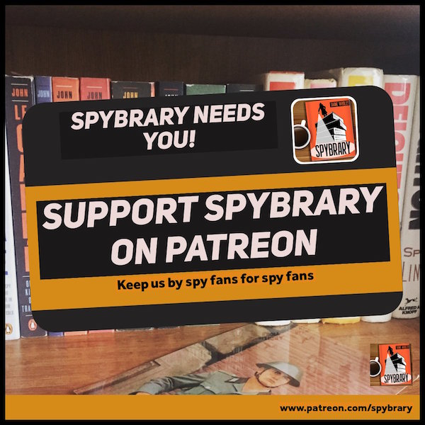 Support Spybrary Spy Podcast on Patreon