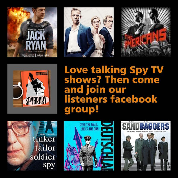Join other spy fans and chat spy tv in our listeners facebook group
